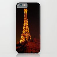 iPhone & iPod Case featuring Paris le Vegas by Elle
