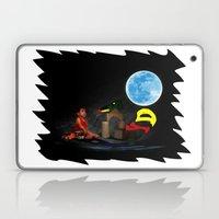 Watching the Moon Laptop & iPad Skin