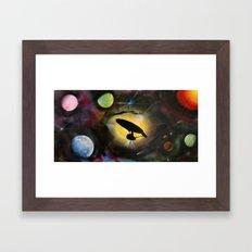 Boldly Go! Framed Art Print
