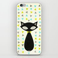 Mid Century Cat  iPhone & iPod Skin