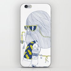Summer Monster iPhone & iPod Skin