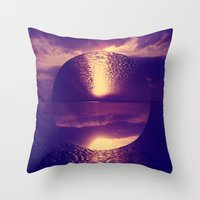 Topsy Turvy  Throw Pillow