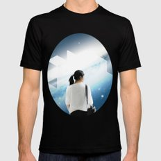 Voyage Mens Fitted Tee Black SMALL