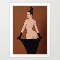 Pop Art Kim Art Print