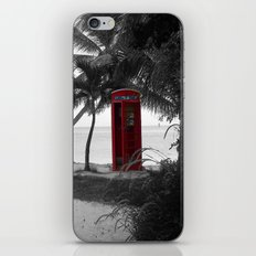 Why Do You Stay Here? iPhone & iPod Skin