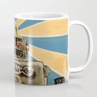 8 Bit Love Machine Mug