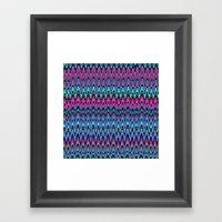 Making Waves Berry Smoothie Framed Art Print