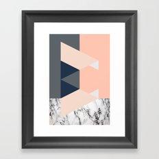 Pitch Framed Art Print