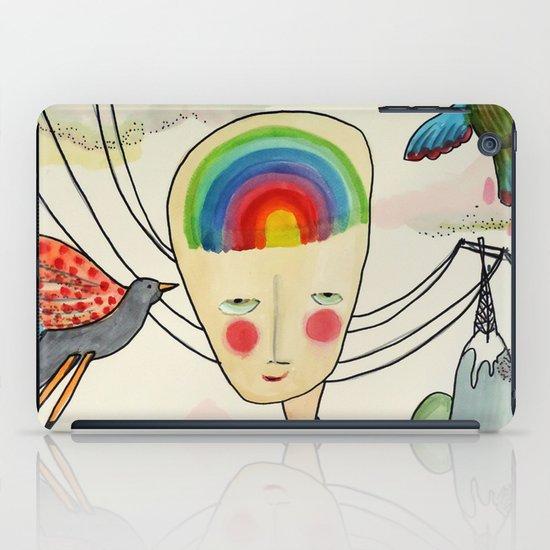 une vie dans la tête iPad Case