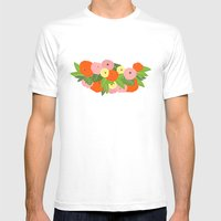 Tontine Mens Fitted Tee White SMALL