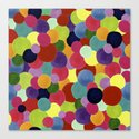 colordot Canvas Print