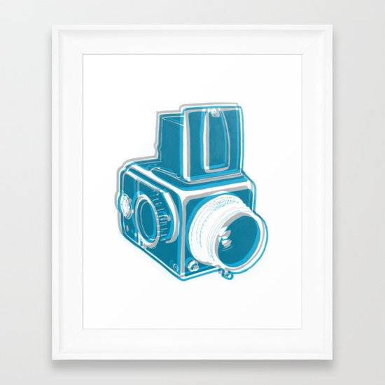 I Still Shoot Film Alternate Framed Art Print