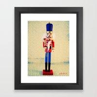 Nutcracker Says Hello  Framed Art Print