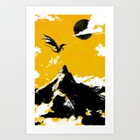 There and Back Again Art Print