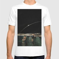 Hold Your Breath Mens Fitted Tee White SMALL