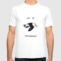 Spectacutoast Mens Fitted Tee White SMALL