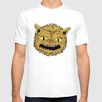 Cat Ghouie Mens Fitted Tee White SMALL