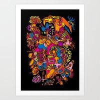 Puska Art Print