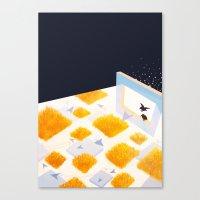 Rectangle of Light Canvas Print