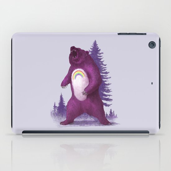 Scare Bear iPad Case