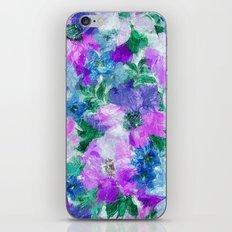 Splendid Flowers 3 iPhone & iPod Skin