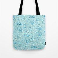Le Grand Bleu Tote Bag
