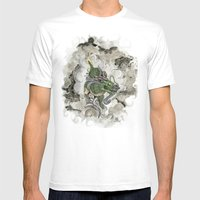 Dragon Of The Mist Mens Fitted Tee White SMALL