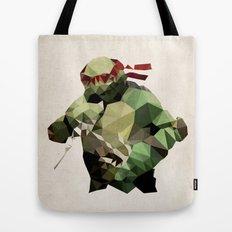 Polygon Heroes - Raphael Tote Bag