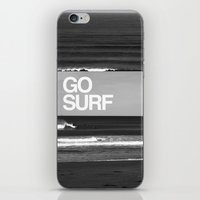 Go Surf iPhone & iPod Skin