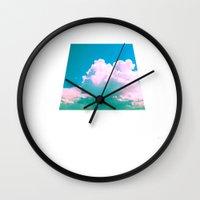 Cloudscape V Wall Clock