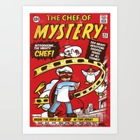 Chef of Mystery Art Print