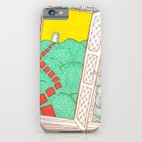 (Door) Il me semble que je serai toujours bien là où je ne suis pas… iPhone 6 Slim Case