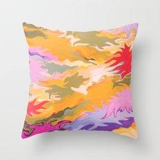 Desert Camo Throw Pillow