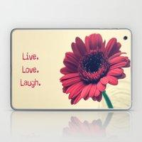 Live.Love.Laugh 2 Laptop & iPad Skin