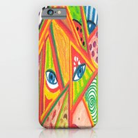 iPhone & iPod Case featuring Woman in love by Luciana Raducanu