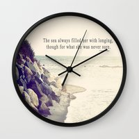 Filled With Longing Wall Clock