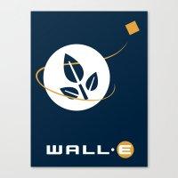 Wall • E Canvas Print