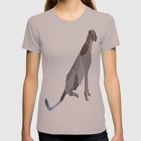 Wilderness Womens Fitted Tee Cinder SMALL