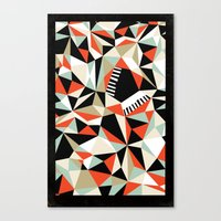 Bebop Butterfly Canvas Print