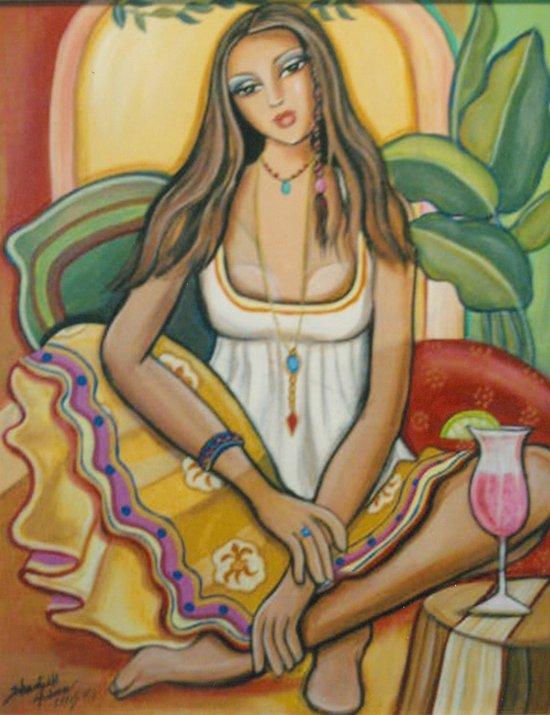 Moroccan Happy Hour Art Print