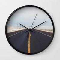 Endless Road Wall Clock