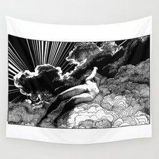 asc 615 - La volupté des formes (The voluptuousness of painting) Wall Tapestry