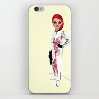 MOON BY NOON iPhone & iPod Skin