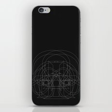 D Like Darth Vader (B&W … iPhone & iPod Skin