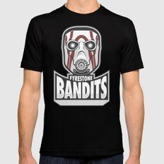 Fyrestone Bandits SMALL Black Mens Fitted Tee
