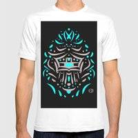 Temple Of Faces Mens Fitted Tee White SMALL