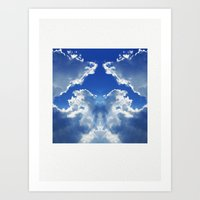What Do You See #2 Art Print