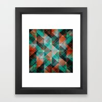 Oxidation Framed Art Print