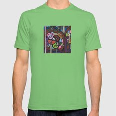 the LONG LOST SEARCH for the MISSING DNA Mens Fitted Tee Grass SMALL