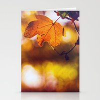Fall into Autumn Stationery Cards